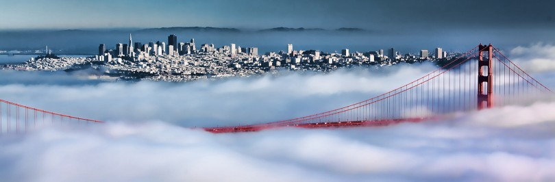 San Francisco fog by Shelly Prevost